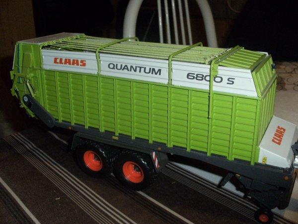 IH 1455 XL AVEC CLAAS QUANTUM 6800 S