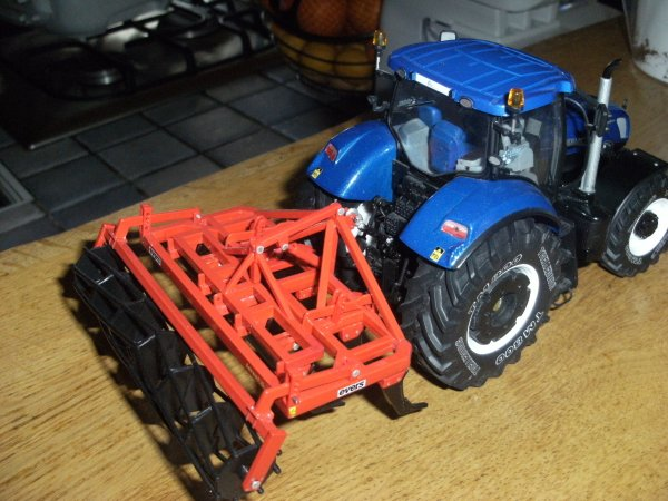 MODIF NEW HOLLAND T7 270 BLUE POWER
