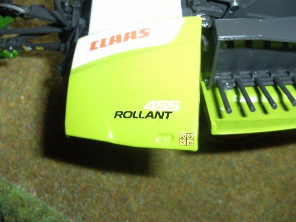 PRESSE CLAAS ROLANT 455 UNIWRAP