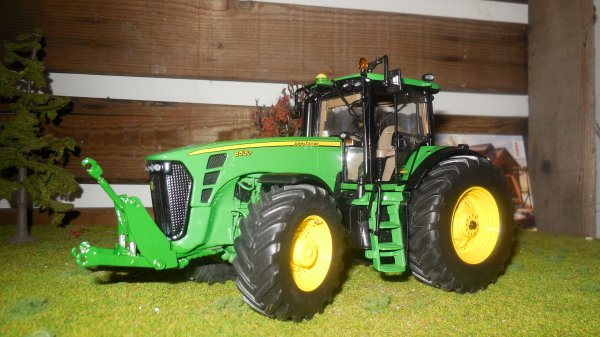 MODIFICATION JOHN DEERE 8530 PRECISION