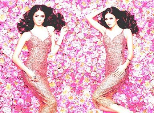 Nina posant pour le magazine Flare.