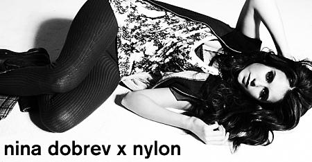 Neuf shoots exclusifs de Nina Dobrev pour Nylon + trois shoots promotionnels exclusifs de la saison 3 !