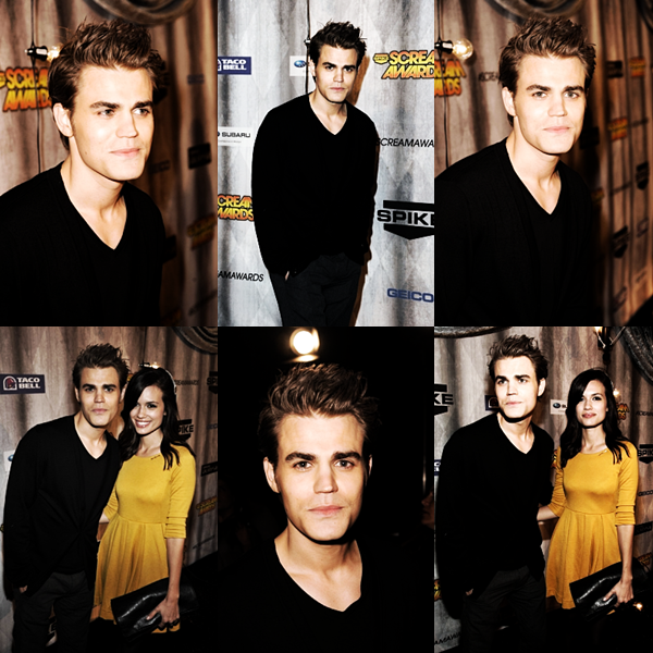 "Paul Wesley aux Scream Awards 2011 ( vous le trouvez comment ? :) + le synopsis officiel de l'épisode 9 : "" Homecoming "" + bandes-annonces de l'épisode 7 : "" Ghost World "" !"