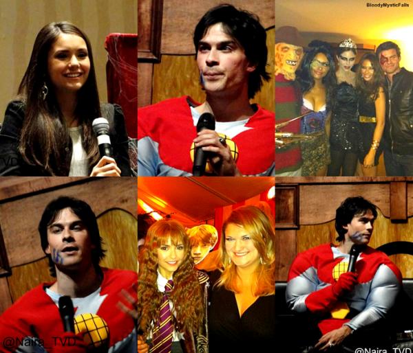L'équipe de The Vampire Diaries parle d'Halloween on 10 on Top + l'équipe de la série à l'Eyecon !