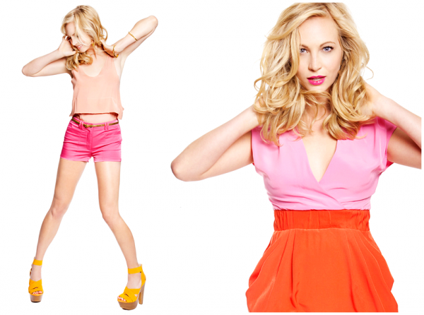 PHOTOSHOOT Candice pose pour le magazine Style File Daily !