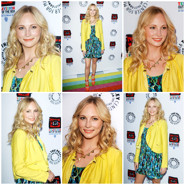 "EVENTS Le 12/04/12, Candice Accola était présente au Paley Center for Media & Warner Bros, celebrate opening of ""Television : Out Of The Box"" !"