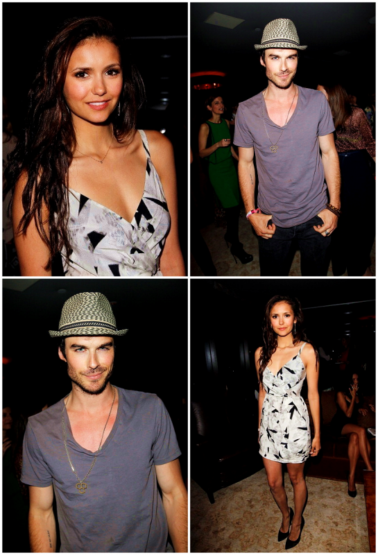 "EVENTS / OTHERS Candice Accola présente à la soirée évènement de Elle Magazine Party + Choré de la nouvelle chanson : ""Put Your Graffiti On Me"" de Kat Graham + Nina Dobrev et Ian Somerhalder étaient au Glamour Book Party le 16/04/12 !"