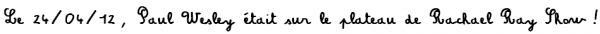 """NEWS/APPEARANCES De nouveaux stills de l'épisode 3x20 : """"Do Not Go Gentle"""" + Le 24/04/12, Paul Wesley était sur le plateau de Rachael Ray Show !"""