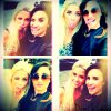 Demi and Cece (l)
