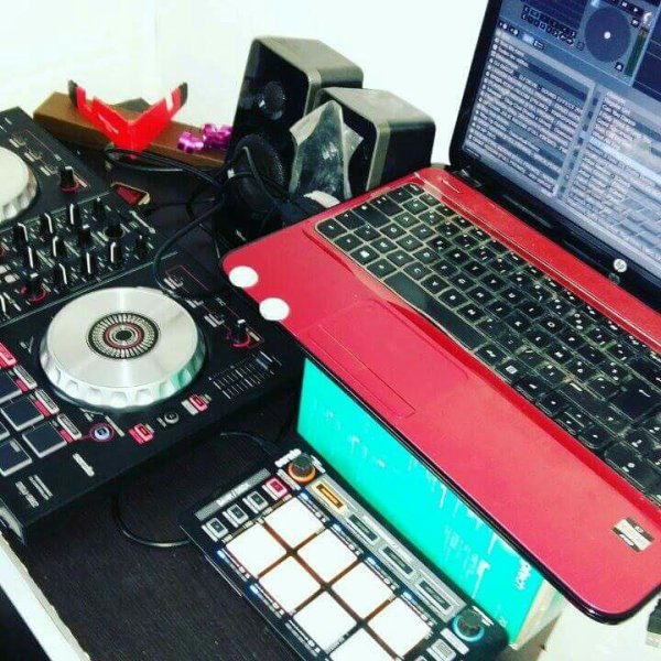 Mix live serato dj néons reloop