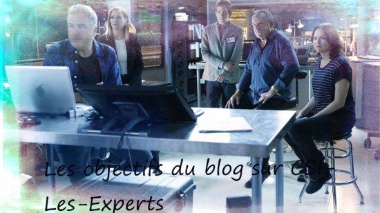 Les objectifs du blog :