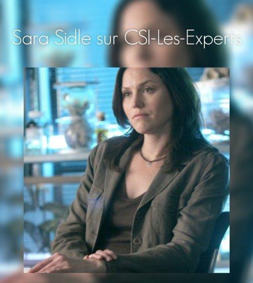 Sara Sidle :