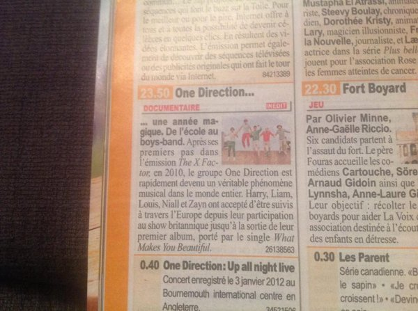 Documentaire d'hier ♥
