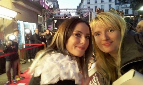♥ Mon selfie avec l'actrice KAYA SCODELARIO (Teresa dans le Labyrinthe) ♥