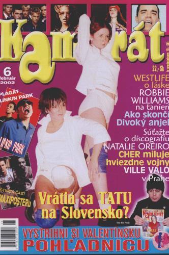 Couverture de presse / Magazine en Slovaquie