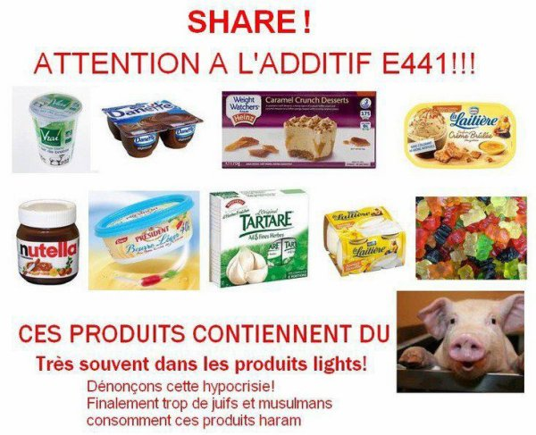 PRODUITS LIGHT = DANGER