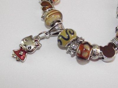 """Boucles d'Oreilles et/ou Bracelet """"Les Châtounettes"""""""