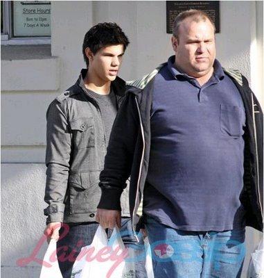 Taylor et son papa