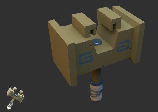 Fan-arts : Dofus en 3D par Graphic-Furioso
