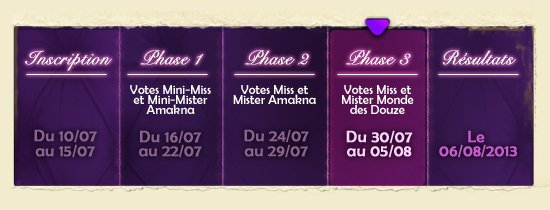 Élisez Miss & Mister MDD 2013 !