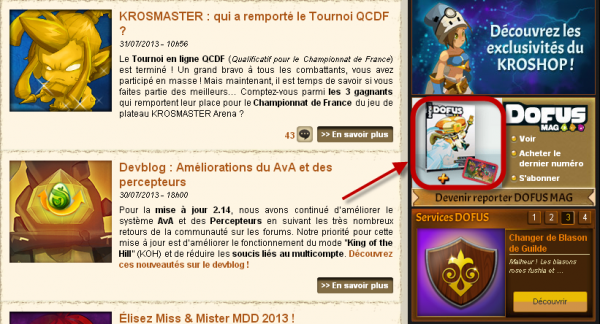 Dofus Mag N°35 : Informations exclusives !