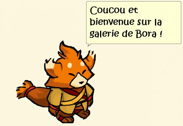 Fan-arts : Galerie de Bora