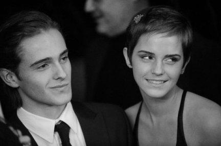 Alex et Emma Watson, lors de la première de Harry Potter et Les Reliques de la Mort à New-York, Etats-Unis