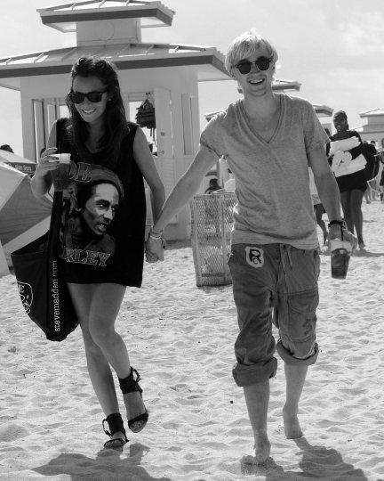 Tom Felton et Jade Olivia