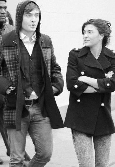 Jessica Szohr et Edward Westwick