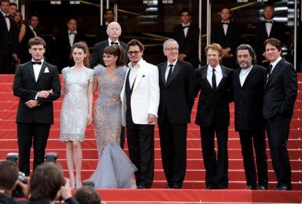 Pirates des Caraïbes - La Fontaine de Jouvence - Avant-Première Mondiale, Cannes 14 Mai 2011