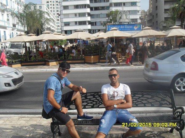 en vacance à la Tunisie