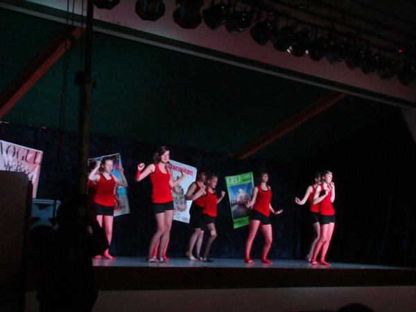 Les danseuses de l' A.B.H.