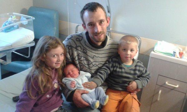Ma famille réunis a la maternité