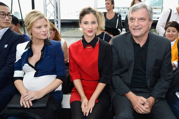 Maxime Simoens: Front Row - Paris Fashion Week Womenswear Printemps / Été 2014