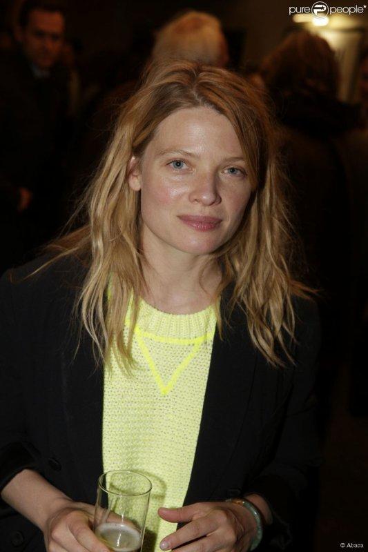 Melanie Thierry - After-party pour le lancement de la 3e saison de la série Hard, au cinéma Max Linder, le 1er juin.