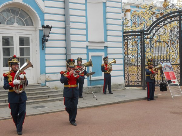 Paleis van Catharina en het Park Tsarskoe Selo (Pushkin).