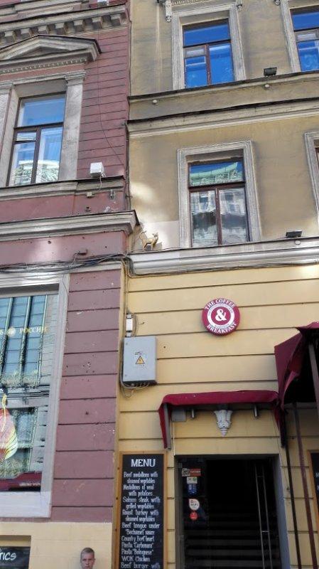 Rendez-vous with Dmitri in Sankt Petersburg.