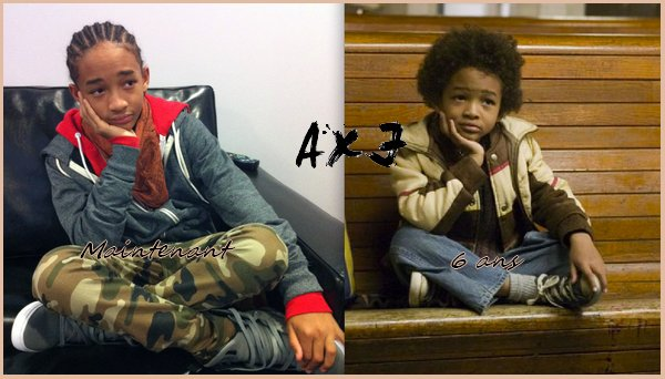 Photo twitter : Justin vient de poster une photo de Jaden sur twitter. Il dit que Jaden est toujours le meme depuis ces 6 ans ! Et précise que la photo a été prise par lui (très important !). --> My boy @officialjaden looks the same as he did when he was 6 hhaha (photo shot by me).