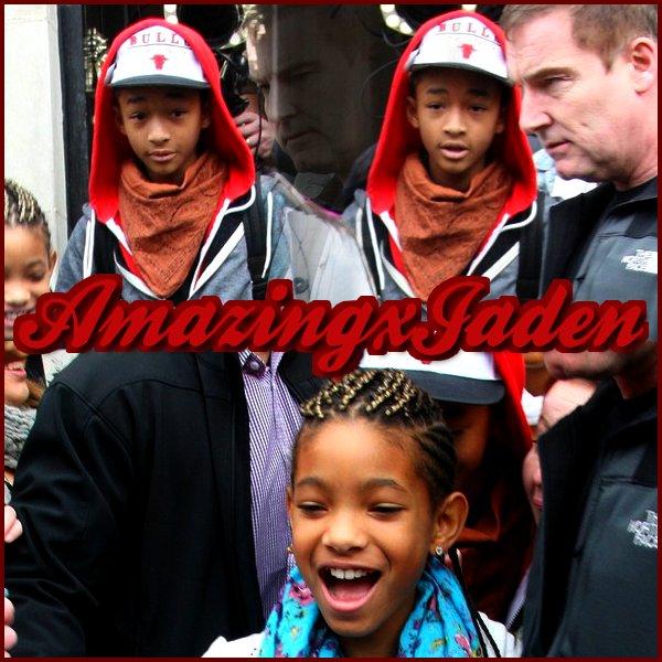 08/03/2011 : Jaden et Willow sortaient de l'hotel a Dublin.