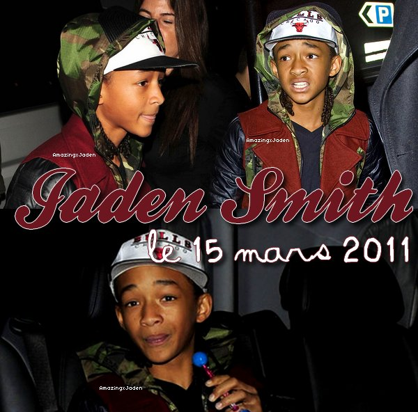 """15/03/2011 : Jaden, Willow et leur Maman sont allés dinner au restaurant """"La Porte des Indes"""" avec Justin Bieber qui se trouve a Londre."""