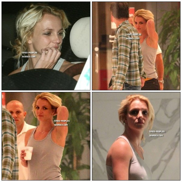 . 27/09/10 : Britney Spears s'est rendue à l'agence William Morris Agency où travaille Jason (il est le manager de plusieurs célébrités) .