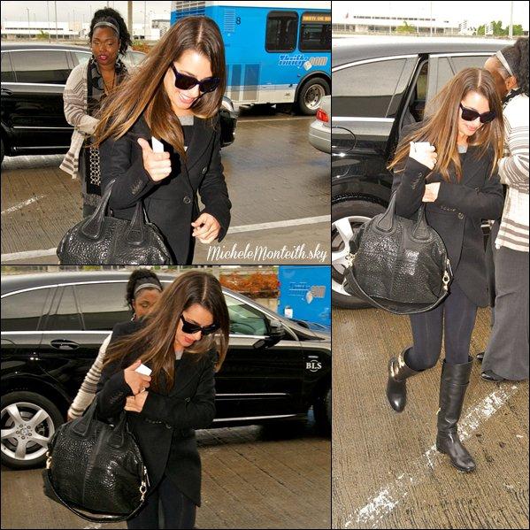 ☼ Candids du 14.11.12 : Lea arrivant au studio !
