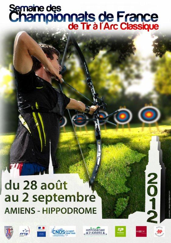 Championnat de France FITA à Amiens du 29 au 2 septembre 2012