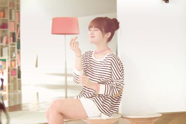 .BTS du photoshoot des T-ara pour la marque iRiver..