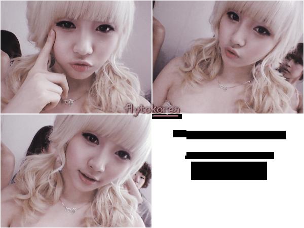 .Yura des Girl's Day a posté sur Twitter ces 3 photos toutes mignonnes ♥  .