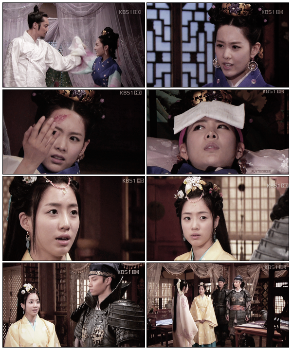 .Quelques captures de Qri et Eunjung (T-ara) dans King Geunchogo..