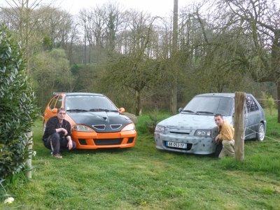 miko , jerome et leur voiture