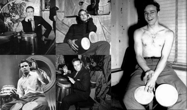 Marlon Brando et la musique