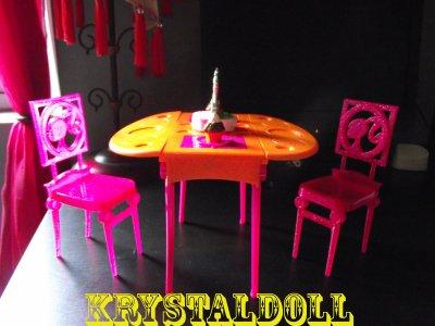 Mes customs : la table
