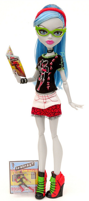 Les Monster High : les fashions pack